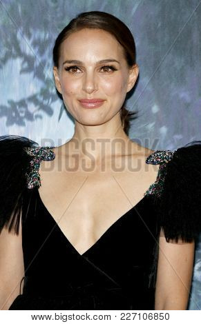 Natalie Portman at the Los Angeles premiere of 'Annihilation' held at the Regency Village Theater in Westwood, USA on February 13, 2018.