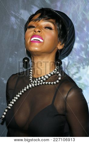 Janelle Monae at the Los Angeles premiere of 'Annihilation' held at the Regency Village Theater in Westwood, USA on February 13, 2018.