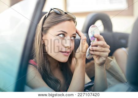 Checking the make up