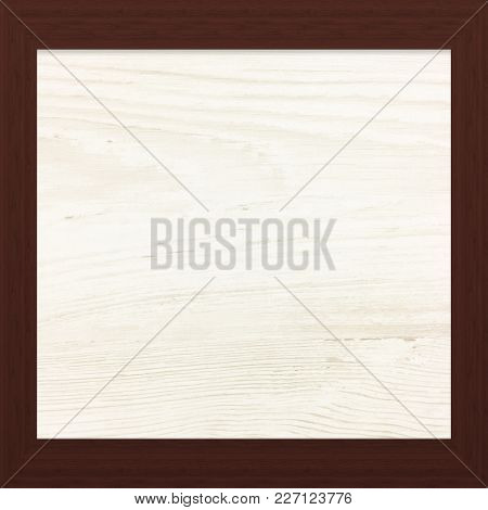 Wood Frame With Old Background. Wooden Picture Frame. Empty Old Barn Wood Frame. Old Picture Frame I