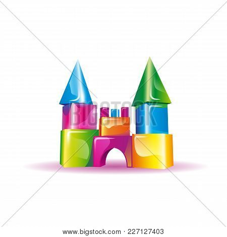 2976066 Jelly Children's Castle From Cubes.