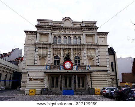 Poznan, Poland - December 02, 2017: The Polish Theatre In Poznan, One Of The Oldest And Best-known D