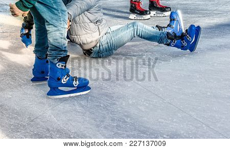 Learn To Skate On The Skating Rink
