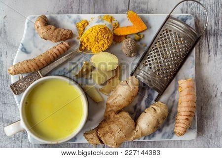 turmeric golden tea