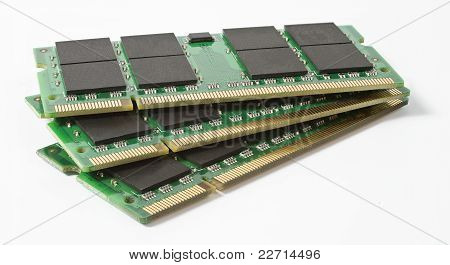 Three So-dimm Module For Use In Notebooks
