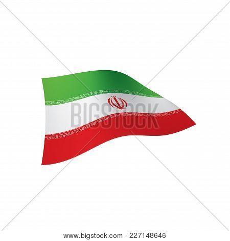Iran Flag Vector Illustration On Vector Photo Bigstock