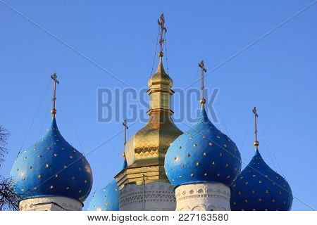 Domes Of The Orthodox Church, Religious Building