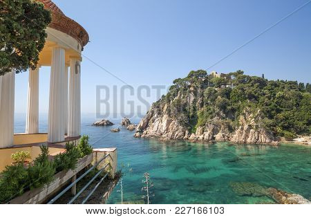 Blanes,spain-may 25,2012: Gardens, Botanical Garden Marimurtra, Designed By Josep Goday,created By I