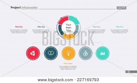 Business Structure Slide Template. Business Data. Graph, Diagram, Design. Creative Concept For Infog