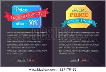 Premium Quality Price Offer Only This Week Half Cost Discount Web Poster With Push Buttons Read More