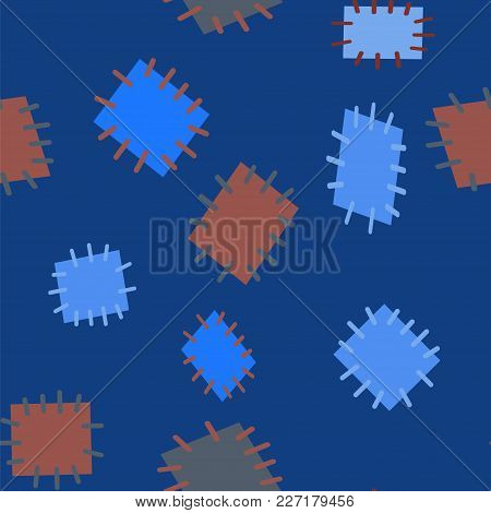 2952653 Seamless Pattern In Color Patches.