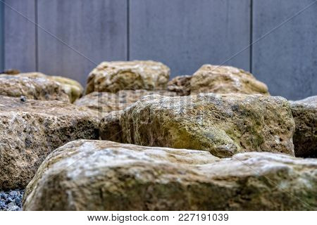 Some Big Stones For The Construction Of A Terrace