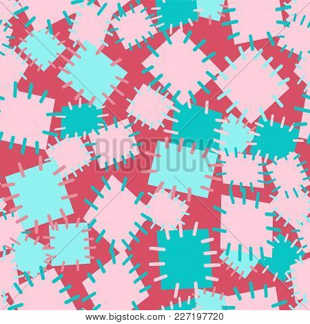 2952652 Seamless Pattern In Color Patches.