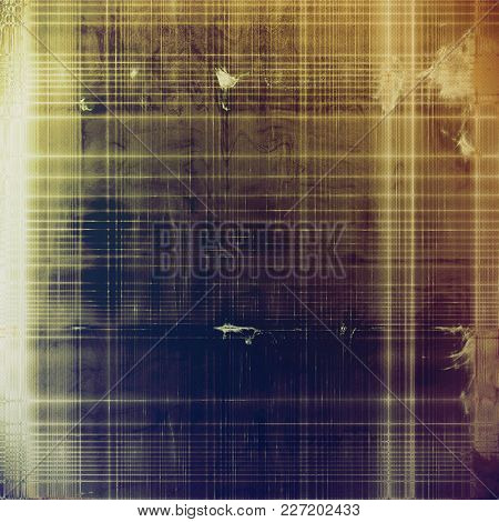Retro style background with grungy vintage texture and different color patterns