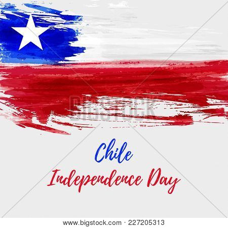 Chile Independence Day Background.