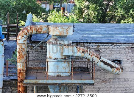 Old Factory Ventilation System
