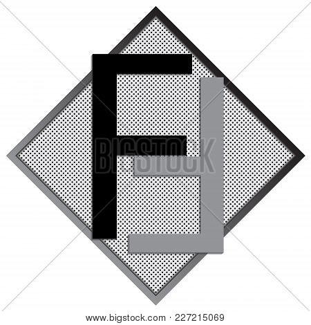 F Letter Logo Concept. Creative Emblem Design Template. Universal Elegant Icon. Premium Business Fin