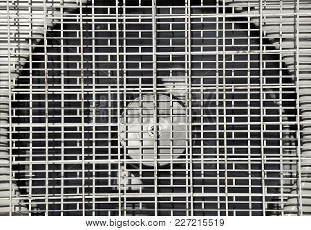 Grid Of Air Conditioning And Ventilation Systems