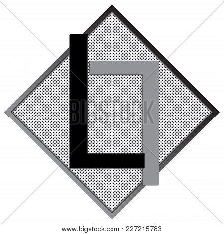 L Letter Logo Concept. Creative Emblem Design Template. Universal Elegant Icon. Premium Business Fin