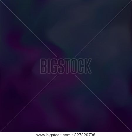 Vector Colorful Blurry Background. Abstract Holographic Texture. Modern Violet Beautiful Backdrop.