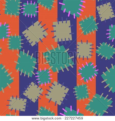 2979500 Seamless Pattern In Color Patches.