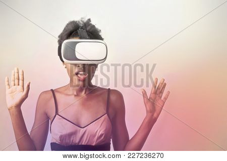 Experiencing 3D glasses