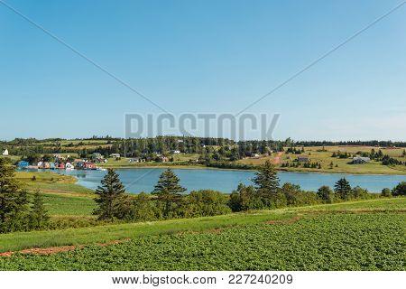 Fishing Village French River (prince Edward Island, Canada)