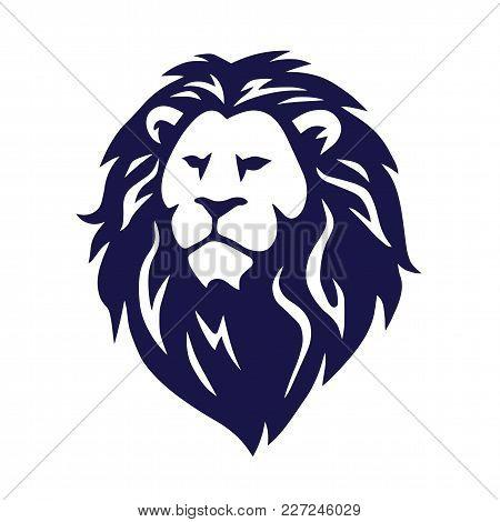 Lion Logo Stylized Vector Illustration Design Icon