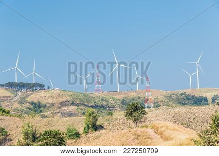 Windmills For Electric Power Production.