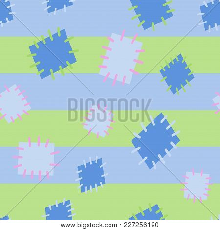2982556 Seamless Pattern In Color Patches.
