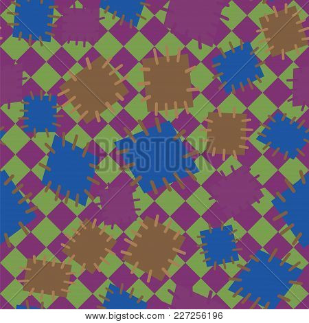 2982555 Seamless Pattern In Color Patches.