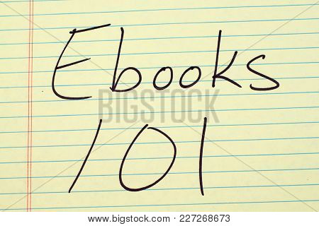 The Words Ebooks 101 On A Yellow Legal Pad