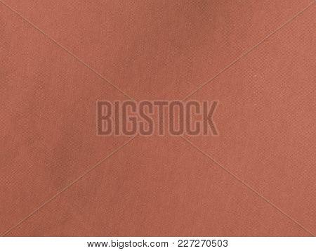 Orange Cloth Textile Material Texture Background Pattern
