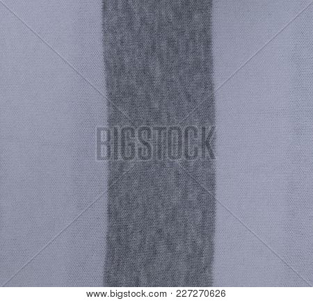 Handmade Knitted Fabric Texture From Above. The Knitted Fabric Texture