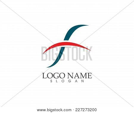 F Logo And Symbols Template Vector Icons