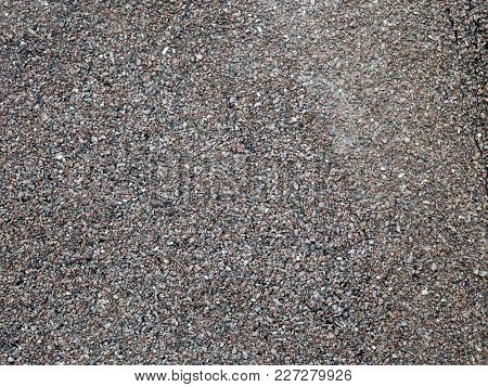 Colored Asphalt Texture. Asphalt Road. Fine Stone, Filled With Bitumen - Road Surface, Texture, Back