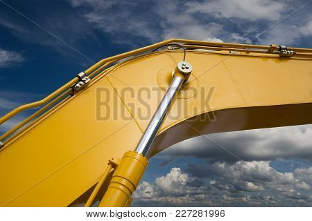 Detail Of New Hydraulic Bulldozer Piston Excavator Arm