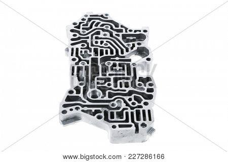 car engine : automatic transmission control center variator gearbox valve body brain