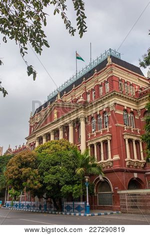 The Writers building at Dalhousie area in Kolkata, West Bengal, India. Writers building houses the Chief ministers office and other secretariat offices