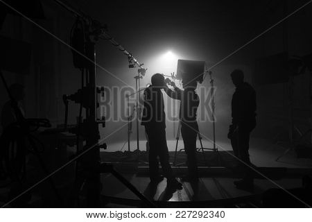 Creative process. Film crew