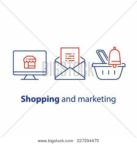 Online Shopping And Marketing Strategy, Abandoned Cart Email Remainder, News Letter Subscription, Ba