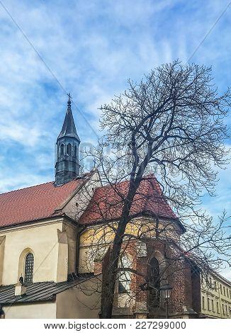 Architecture In The Historic Centre Of Krakow, Poland.