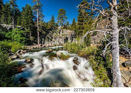 Eagle Falls at Lake Tahoe in California, USA