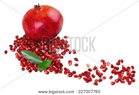 Fresh Seeds Pomegranates Healthy Food Low Calorie Natural Food Organic Food
