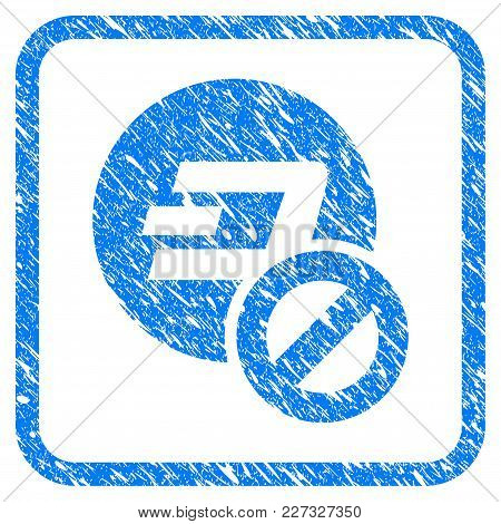 Forbidden Dashcoin Rubber Seal Stamp Imitation. Icon Vector Symbol With Grunge Design And Dust Textu