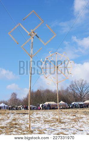 Traditional Uzgavenes Event Decoration