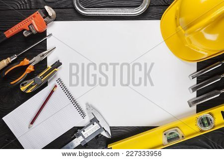 Building Tool Tools Various Color White Objects