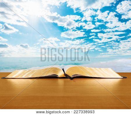 Book Holy Bible Celebration Holiday Love Light