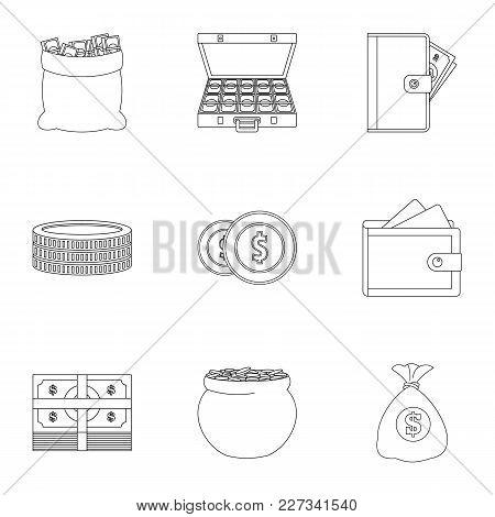 Sponsorship Icons Set. Outline Set Of 9 Sponsorship Vector Icons For Web Isolated On White Backgroun