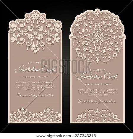 Invitation Card Exclusive Design - Vintage Style